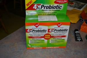 Do you us a Probiotic??? Trying Member's Mark 4X Probiotic #digestivehealth