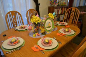 Easy Easter Decor with #KmartEaster