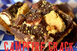Campfire Crack Candy!!! Summertime treat!