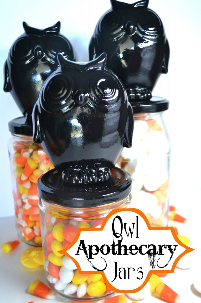 Halloween Apothecary Jar Tutorials