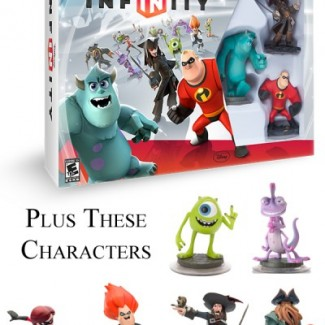 Disney Infinity Giveaway Plus Characters(1)