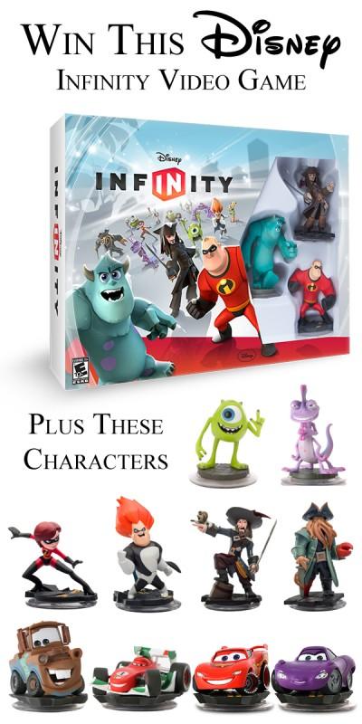 Disney Infinity Giveaway Plus Characters(1)