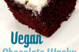 Vegan Chocolate Wacky Cake {Recipe}