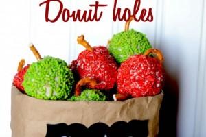 Apple Cinnamon Donut Holes A Delicious After School Treat!