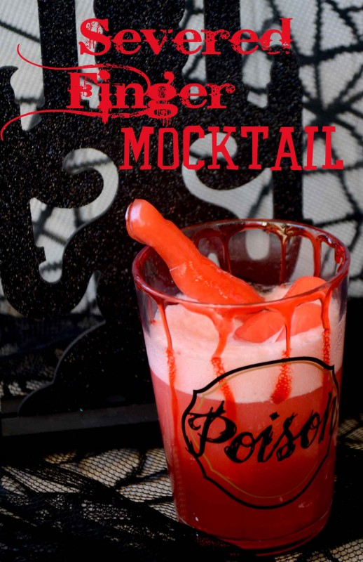 severed finger mocktail #shop
