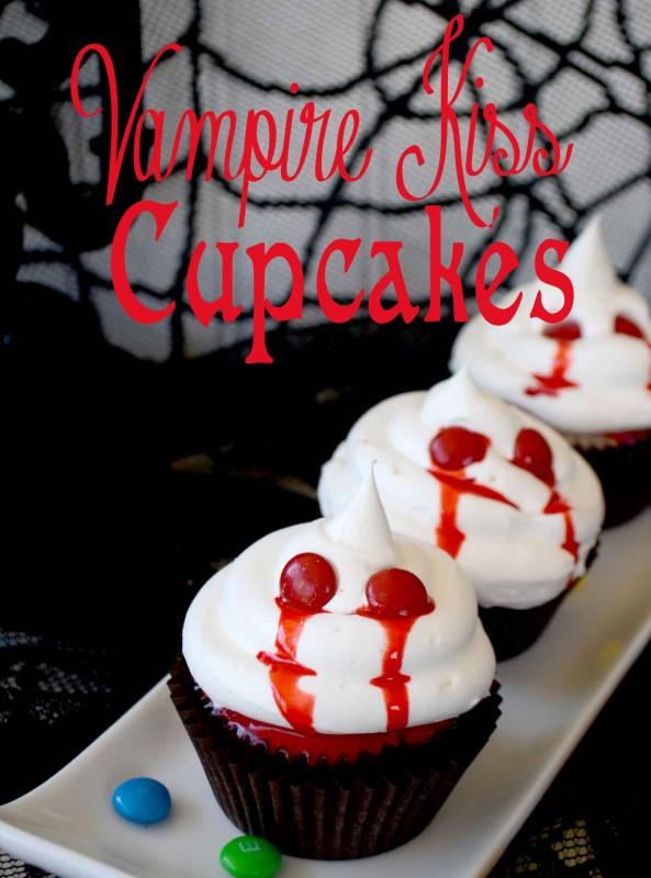 Vampire Kiss Cupcakes #shop
