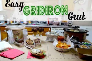 Game Day Eats and Gridiron Grub the easy way!!! Walmart and Nestle help out!!