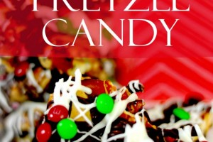 Day 8~12 Days of Christmas Candy, Holiday Pretzel Candy