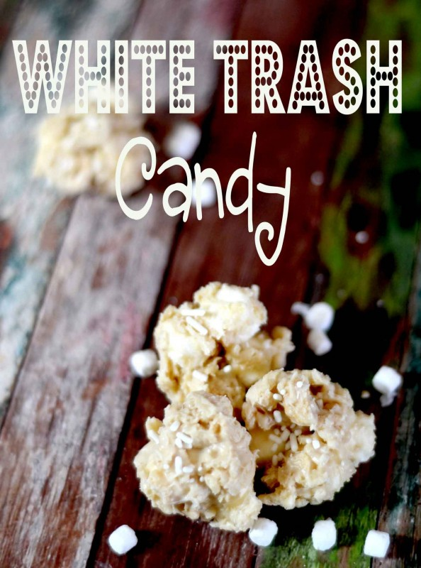 day 12~12 days of christmas candy christmas white trash candy