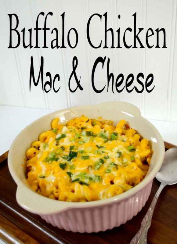 Buffalo Chicken Mac and Cheese!! Recipe!!