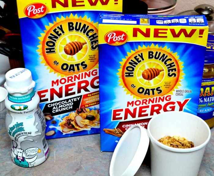 need a morning treat to start your day?? honey bunces of oats morning energy has you covered!!