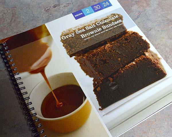 Cafe Zupa Blogger Cookbook Gray Sea Salt Brownie Recipeat Pinkcakeplate.com