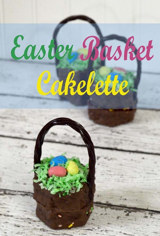 no bake easter basket cakelettes!!!