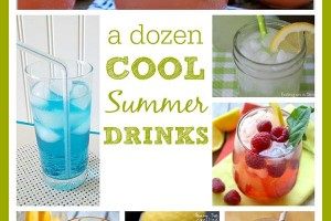 It's 110 Degrees Out here are 12 Cool Drinks to beat the heat!!