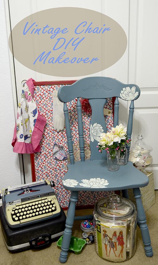 vintage chair diy with martha stewart crafts® vintage decor paint