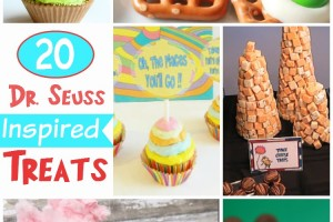 20 Seussical Treats to Celebrate Dr. Seuss's Birthday March 2nd!