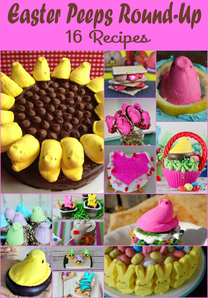 Easter Peeps Round Up