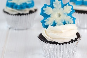 Disney Frozen Inspired Cupcake! Recipe and Tutorial!