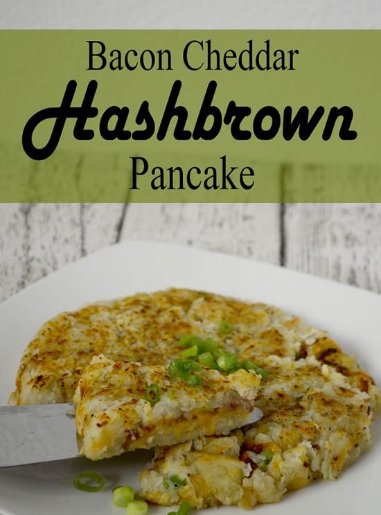 Bacon cheddar hashbrown pancake1
