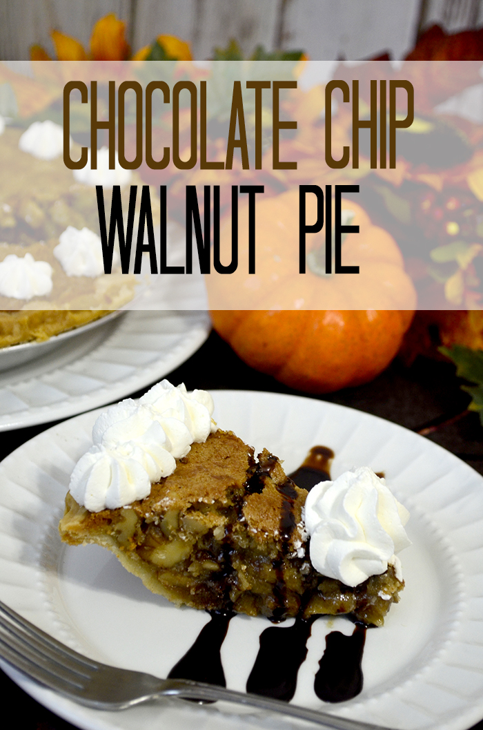 chocolate chip walnut pie 5
