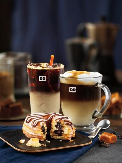 Fudge Croissant Donut Lifestyle