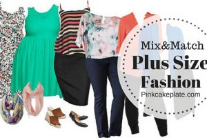 Mix & Match Plus Size Easter Looks