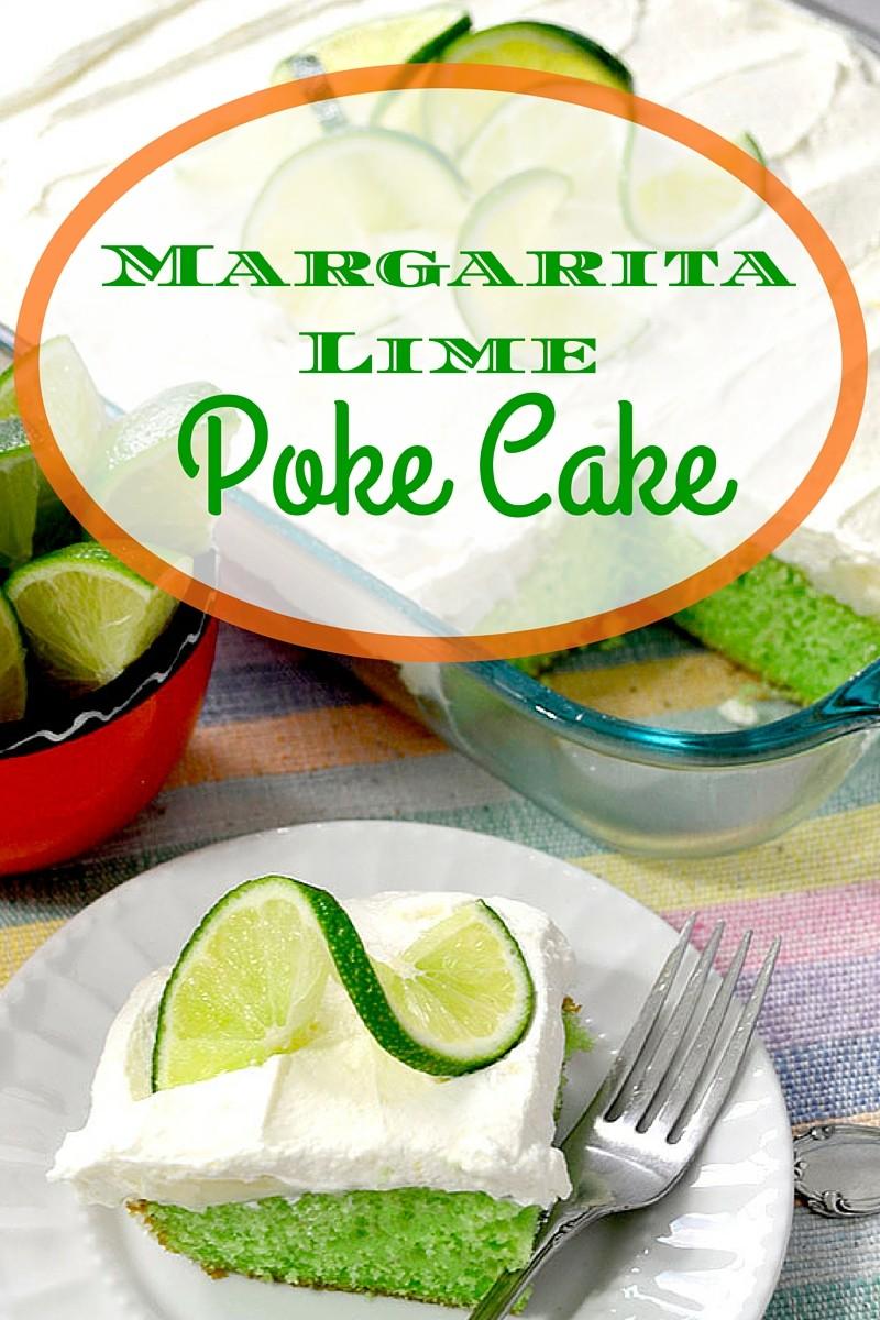 Margarita Lime Poke Cake