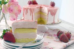 Mother's Day Made Easy Strawberry Splendor Cake
