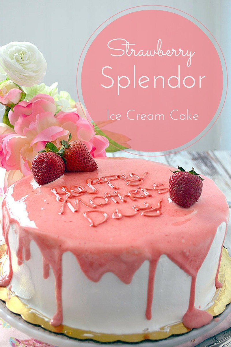 strawberry splendor cake
