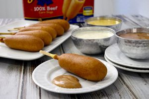Three Out of This World Corn Dog Dipping Sauces