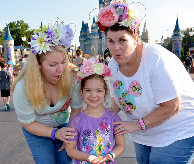 tinker bell floral ears