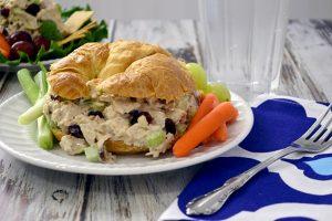 Easy Turkey Salad Croissants