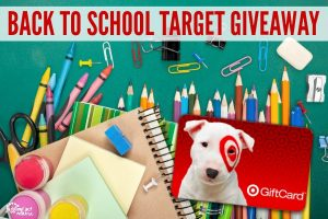 Back to School Target Giveaway