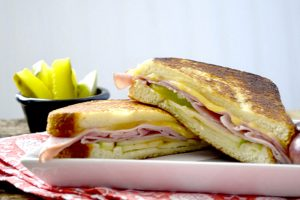 Ham, Gouda and Apple Melt Easy Recipe