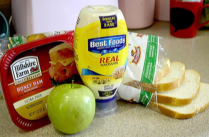 Ham Gouda apple melt 2