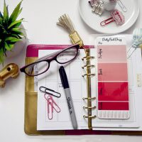 Weight Loss and DIY Food Diary Planner Dashboard