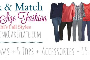 Autumn Plus Size Mix & Match from Kohl's!