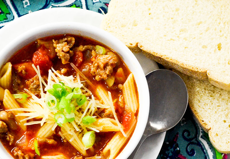 Easy Italian Sausage Soup
