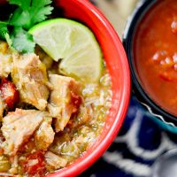 Slow Cooker Pork Carnitas Stew