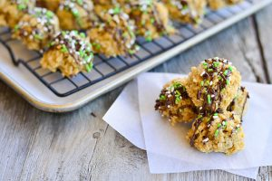 Irish Cream No Bake Cookies