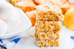 Lemon Coconut Blondie Recipe