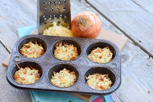Cheddar Bacon Hash Brown Cups