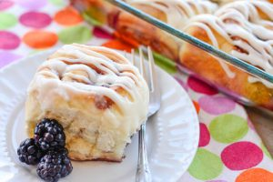 Blackberry Cream Cheese Sweet Rolls