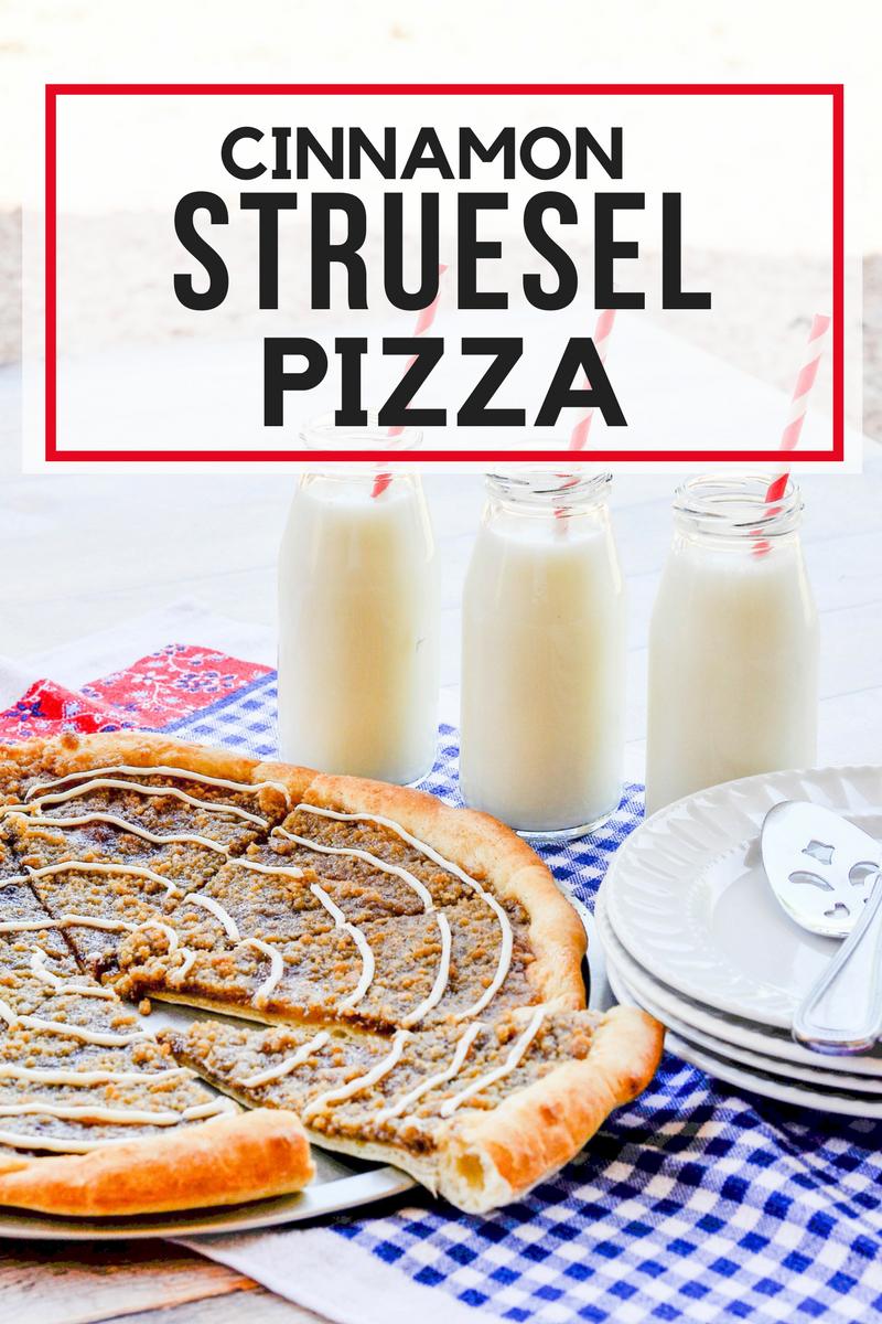Cinnamon Strusel Pizza