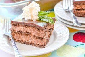 Classic Chocolate Ice Box Cake
