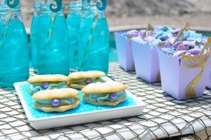 Mermaid Seashell Cookies