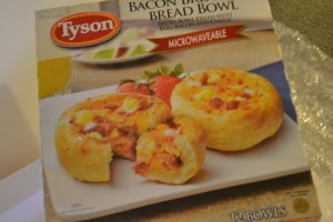 Tyson Breakfast Bread Bowls for Dinner!! YUMMMY!!!! #TysonBreakfast