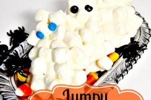 Lumpy Ghosts Easy Kid Friendly Treat!!