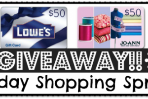 $250.00 Holiday Shopping Spree – Cyber Monday Giveaway