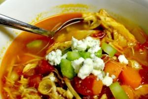 Buffalo Chicken Soup!!!  YUMMMYYYY!